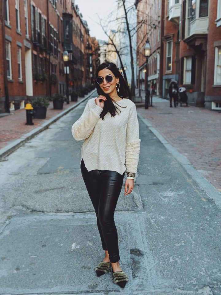 Cozy Winter White Sweaters For An Effortless Look